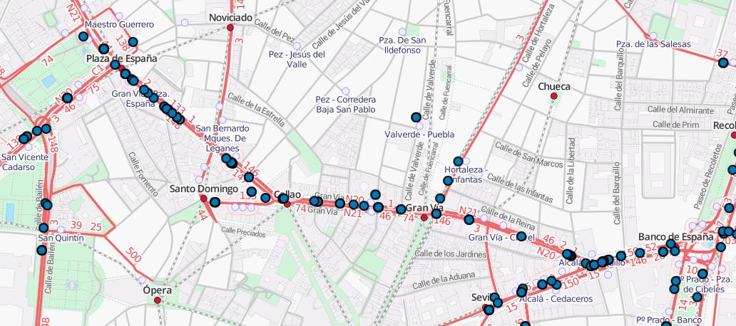 Travic: transporte público en tiempo real