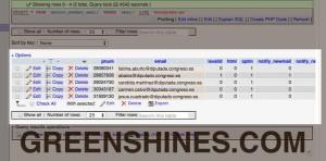 filtracion datos Ashley Madison diputados congreso España