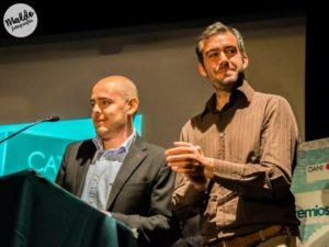 Entrega Premios The Biombo Tecnología Luis Fombellida