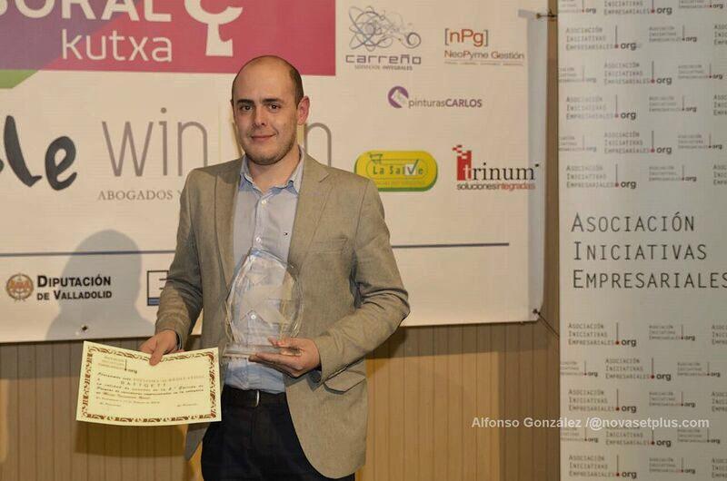 Premios Iniciativas Empresariales luis fombellida prieto