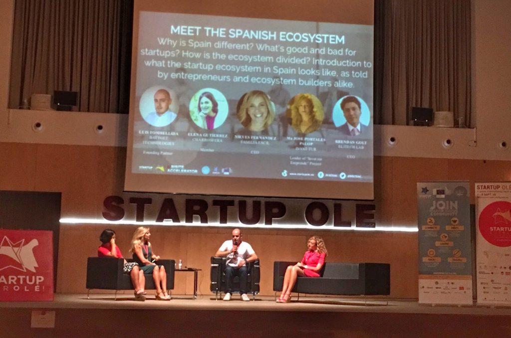 Startup Olé 2016 Panel