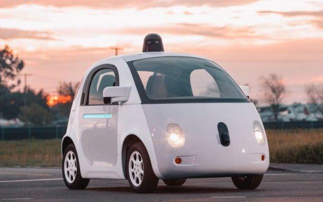 coche autónomo sin conductor google