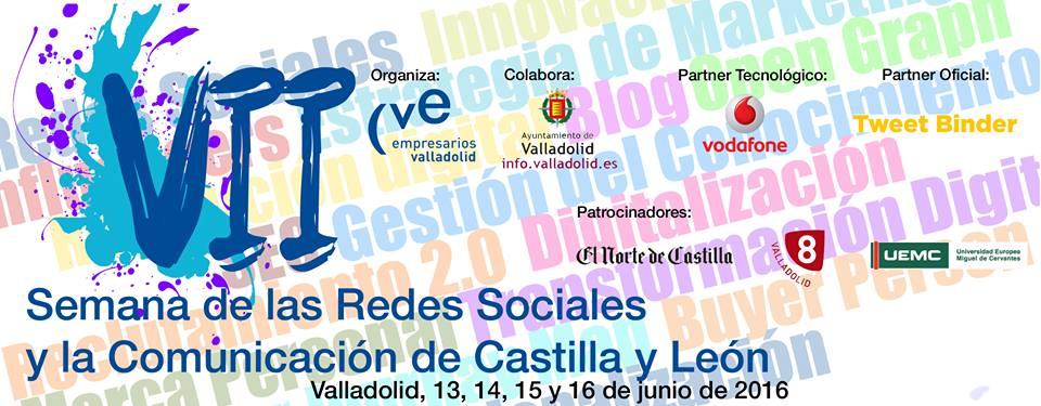 VII Semana Redes Sociales Castilla y León 2016