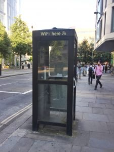 cabina telefónica wifi Londres