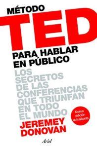 TED hablar en público libro