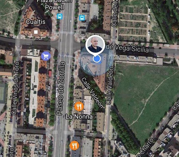google maps compartir ubicación